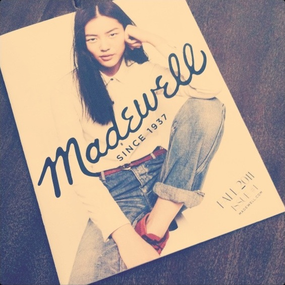 madewell catalogue