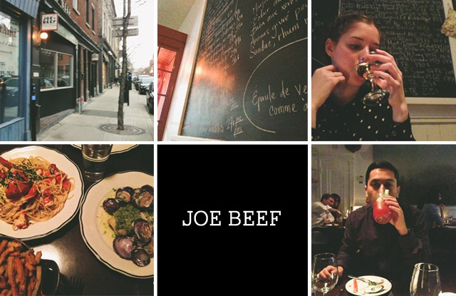 JOEBEEF MONTREAL: WHERE WE ATE/SHOPPED