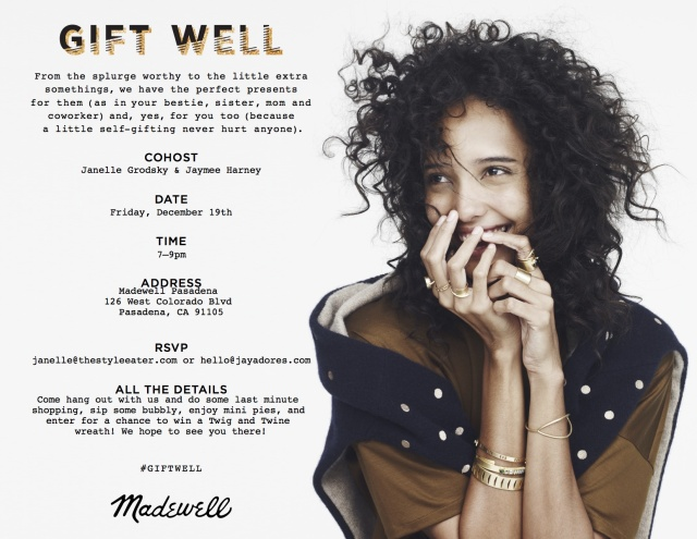 Madewell Holiday Event